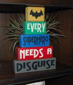 Hey, I found this really awesome Etsy listing at https://www.etsy.com/listing/219716932/every-superhero-needs-a-disguise-batman