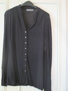 Mint Velvet Black Blouse