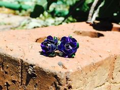A personal favorite from my Etsy shop https://www.etsy.com/listing/236253777/royal-purple-roses