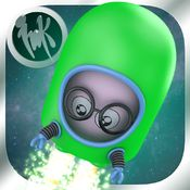 Jetpack Journeys: Astronaut Trainer, available in iTunes for $.99. This is a great educational app to get kids interested in space. There are five game aspects, including building rocket ships, putting the planets in order, and flying rocket ships.  There is not much in the way of instructions, but it is intuitive enough for kids to figure out on their own. The background music is soothing and unobtrusive, and there are no in-app purchases. 4/25/15