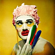Leigh Bowery by Werner Pawlok: example 4. Died of AIDS on December 31, 1994 .