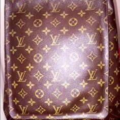 "Selling this ""LOUIS VOTTON MESSENGER BAG Lg. Authentic"" in my Poshmark closet! My username is: girlrandi. #shopmycloset #poshmark #fashion #shopping #style #forsale #Louis Vuitton #Handbags"