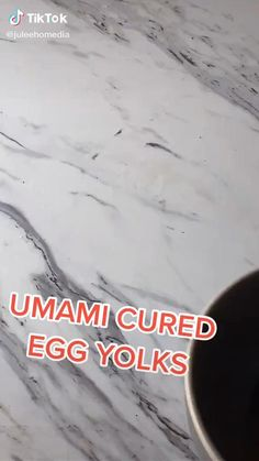 Are you looking for some healthy and very easy to make rice topping ideas? Did you know that you can cure eggs and store them in the fridge and get a healthy breakfast? If you are interested, you should watch this Easy Japanese Umami Cured Eggs Recipe Food TikTok by @juleehomedia Japanese Egg, Japanese Sushi, Cured Egg Yolk, Healthy Japanese Recipes, Graffiti Alphabet Styles, Asian Desserts, Chicken Salad Recipes, Food Videos, Recipe Videos