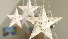 5 sakarainen origami tähti