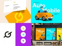 jpg by Julien Renvoye Brand Presentation, Business Cards, Identity, Illustration, Poster, Lipsense Business Cards, Illustrations, Personal Identity, Name Cards