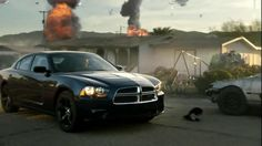 In the future, only the defiant survive, and only the Dodge Charger has enough power and grit to keep destruction at bay.