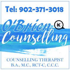 Counselling Help with Anger, anxiety, depression, grief, stress!   KELLY O'BRIEN - COUNSELLING THERAPIST SYDNEY, NS  O'Brien Counseling in Sydney NS are a private one-on-one family counselling services that invite you to come into their comfortable environment to have a chat about your current situation.  #familycounsellingcapebreton #therapistcapebreton #counsellor #therapist #depression #stress #anxiety #couplescounsellling