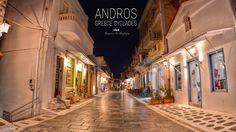 Άνδρος Greece Cyclades Andros Greece, Greek Beauty, Greek Islands, Aerial View, Where To Go, Beautiful Places, Places To Visit, Modern, Summer