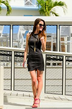 World's most perfect snakeprint LBD
