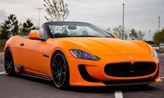 The car tuning firm DMC has recently released a brand new upgrade program for the Maserati GranTurismo Convertible. Maserati Quattroporte, Maserati Granturismo Convertible, Maserati Convertible, Bugatti, Lamborghini, Ferrari Car, Sexy Cars, Hot Cars, Aston Martin