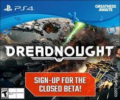 25 PS4 Dreadnought Beta Keys Giveaway - Closed Beta Access #Playstation4 #PS4 #Sony #videogames #playstation #gamer #games #gaming