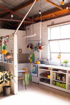 colorful kitchen / casa vogue