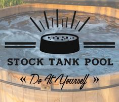 DIY Stock Tank Pool
