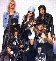 Guns N Roses 1980's