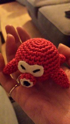 Legend of Zelda Octorok plushie (with free crochet pattern)