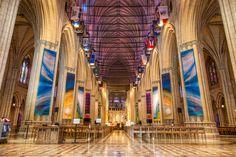 Washington National Cathedral in Washington DC, D.C.