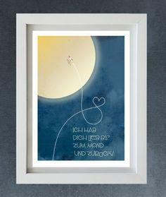 """* Kleine Rakete fliege schnell. schreib"""" ich lieb Dich"""" in den Himmel.    Tolle Liebeserklärung an alle, passend zu unserer Weltraum Traum Bettäwsche,"""