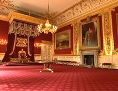 Queen Elizabeth II is renting out some rooms in St. James' Palace for parties during the 2012 Olympics in London.