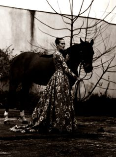 "Valentino Spring 2014 Couture | ""Haute Culture"" by Stian Foss for L'Officiel Paris April 2014"
