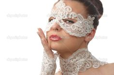 I believe I have found my masquerade ball mask for the wedding rehearsal dinner.