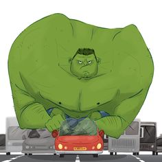 #Hulk #Animated #Fan #Art. (Hulk Smash) By: Lelpel. ÅWESOMENESS!!!™ ÅÅÅ+