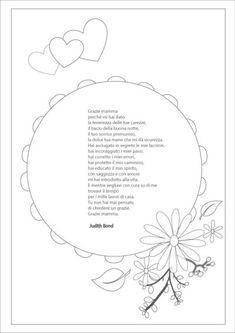 Poesia festa mamma a mother is to me mom for Maestra sandra pasqua