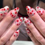 The Freshest Nail Art Inspiration For Spring Arte De Uñas De Cereza Harvest Moon, Trendy Nail Art, Cool Nail Art, Nail Designs Spring, Cool Nail Designs, Sally Hansen, Spring Nails, Summer Nails, Essie