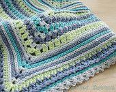 Blanket Crochet Pattern, Breath of Heaven, Baby, Girl, Boy