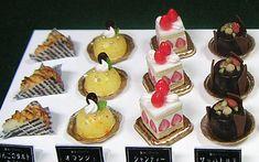 といといのミニチュア【ケーキもろもろ2】 Cute Polymer Clay, Polymer Clay Miniatures, Mini Things, Mini Foods, Miniture Things, Miniature Food, Clay Creations, Cake Cookies, Just Desserts