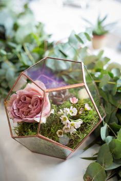 Terrarium Wedding | Dusky Pink Wedding | Cafe Latte Wedding | Dusky Pink Wedding Decor | Terrarium Wedding Decor | Succulent Wedding | Terrarium Wedding Centrepiece | Pink Tone Wedding Bouquet | Pink Shades Wedding Bouquet | Eucalytpus Wedding Bouquet | Cafe Latte Wedding Bouquet | Lilac and Lace Floral Design | Kent Wedding Florist | Photographer - Isha Hawkins Terrarium Wedding Centerpiece, Pink Wedding Centerpieces, Wedding Bouquets, Geometric Wedding, Floral Wedding, Wedding Flowers, Latte Wedding, Wedding Cards, Wedding Stuff
