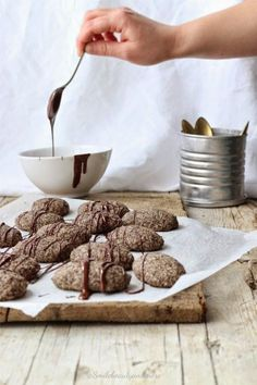 Smiles Beauty and More: Biscotti al cocco e grano saraceno buckwheat chocolate cookies #holiday-baking
