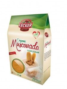 LECKER Natural Organic Muscovado, is made thru evaporation of sugar cane juices until crystallization, resulting in an unrefined and non-centrifugal sugar with a delicious flavor and strong molasses content, retaining its natural properties becoming a rich ource of energy and vitamins.