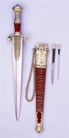 Dagger with Knife and Awl Germany, 1530-1540 Staatliche Kunstammlungen Dresden