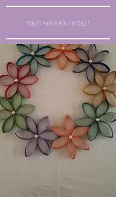 Toilet Paper Roll Crafts - Get creative! These toilet paper roll crafts are a great way to reuse these often forgotten paper products. You can use toilet paper rolls for anything! creative DIY toilet paper roll crafts are fun and easy to make. Paper Towel Roll Crafts, Toilet Paper Roll Art, Rolled Paper Art, Quilling Paper Craft, Toilet Paper Roll Crafts, Cardboard Crafts, Diy Paper, Towel Crafts, Paper Towel Rolls