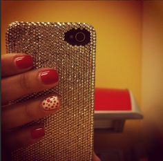 DeBari Crystal Phone Case