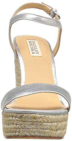 24d4b4e7647 Badgley Mischka Women s Bermuda Espadrille Wedge Sandal    Read more  reviews of the product by visiting the link on the image. (This is an  affiliate link)   ...