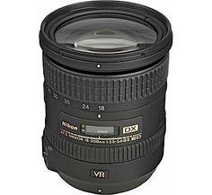 Nikon lenses best kit lens for travel lenses Nikon AF-S DX NIKKOR 18-200mm f/3.5-5.6G ED VR II Lens  - Cameras Direct AUSTRALIA