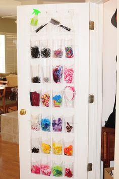 Organize Using The Backs Of Doors
