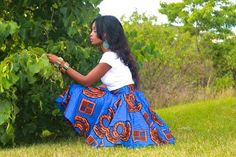 Beautiful Ankara skirt