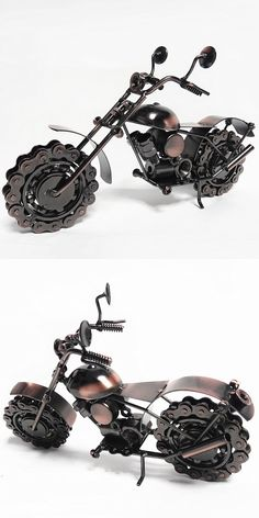 TOP COOL ART - Vintage METAL Pure hand Retro iron Classic motorcycle model --HOME office BAR RETRO TOP Decor art # M20 $25