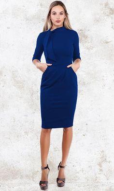 1c2d60866d73b3 16 beste afbeeldingen van Jurkjes.com ღ Blauwe jurkjes - Ball gown ...