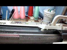 . Как я вяжу ДФЖ с пикейными кнопками - Машинное вязание - Страна Мам