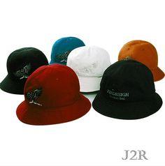 2c6233130ab7c Bucket Hat Cotton 6 Panel Boonie Hunting Outdoor Hat Caps NWT J2R JRBK001   J2RKorea
