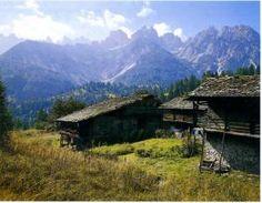Forni di Sopra, Alpine architecture