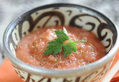 Soupe froide marocaine à la coriandreVoir la recette de la Soupe froide marocaine à la coriandre >>