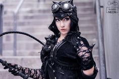 Our favorite girl from the DC Universe, Selina Kyle, gets a steampunk make over that both re-imagines and enhances her look. Are we happy with the results, readers? What am I saying, of course we a…