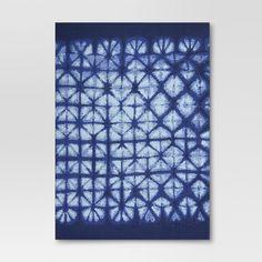 Blue shibori outdoor rug   Target