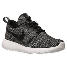 Women's Nike Roshe One Flyknit Casual Shoes | Finish Line  Size 6.5 (they run big) Color either the black and dark grey (that's what I pref) or the black and cool grey  These are a good alternative if u can't find the ones I really like