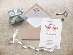 Mais um convite de casamento personalizado com a temática escolhida pela Inês e pelo Lourenço para o seu casamento, para mais informações enviem mail para madebycatia@gmail.com.