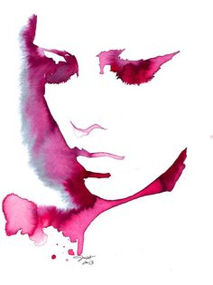 Sooner or Later, print from original watercolor fashion illustration by Jessica Durrant